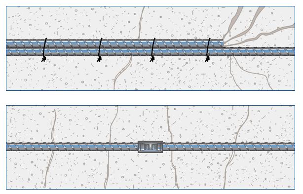 مزایای اتصال مکانیکی نسبت به اتصال اورلپ